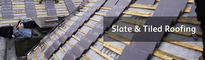 Slate roof strip and recover
