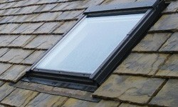 Velux roof window installation